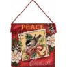 Набор для вышивания Dimenisions 70-08848 Peace Ornament фото