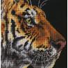 Набор для вышивания Dimensions 07225 Tiger Profile фото