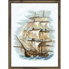 Набор для вышивки крестом Риолис 479 Корабль