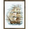 Набор для вышивки крестом Риолис 479 Корабль фото