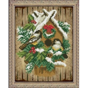 Набор для вышивания крестом КиТ 40915 Волшебство рождества фото