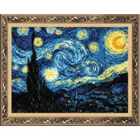Набор для вышивки крестом Риолис 1088 Звездная ночь