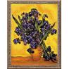 Набор для вышивки крестом Риолис 1087 Ван Гог.Ирисы фото