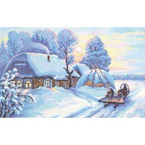 Набор для вышивки крестом Чудесная игла 43-04 Мороз и солнце