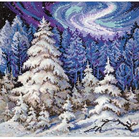Набор для вышивки крестом Чудесная игла 45-03 Лесные красавицы