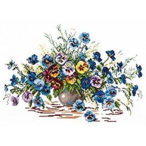 Набор для вышивки крестом Чудесная игла 40-11 Цветы лета