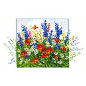 Набор для вышивки крестом Чудесная игла 40-12 Полевые цветы