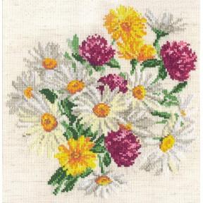 Набор для вышивки крестом Чудесная игла 40-17 Ромашки