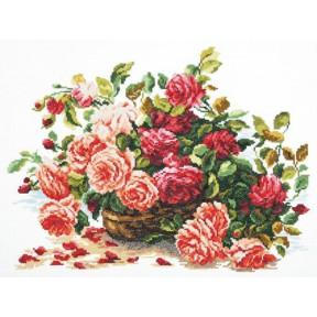 Набор для вышивки крестом Чудесная игла 40-38 Королевские розы