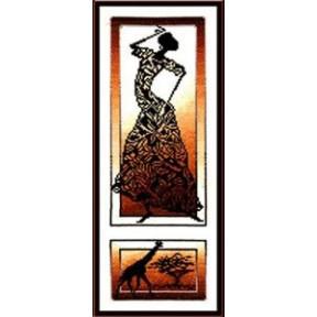 Набор для вышивки крестом Золотое Руно АИ-002 Знойный танец