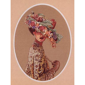 Набор для вышивки крестом Dimensions 03823 Victorian Elegance