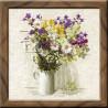 Набор для вышивки крестом Риолис 924 Букет полевых цветов фото