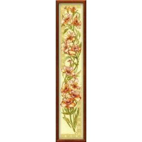 Набор для вышивки крестом Риолис 939 Альстромерии