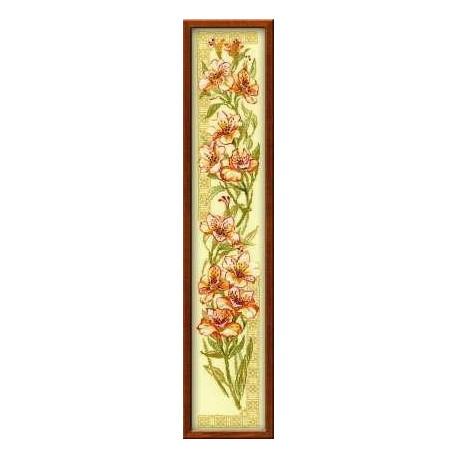 Набор для вышивки крестом Риолис 939 Альстромерии фото