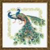 Набор для вышивки крестом Риолис 767 Павлины фото
