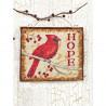 Набор для вышивания Dimensions 70-08857 Hope Ornament фото