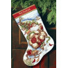 Набор для вышивания Dimensions 08752 Santa's Journey Stocking