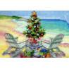 Набор для вышивания Dimensions 70-08832 Christmas on the Beach