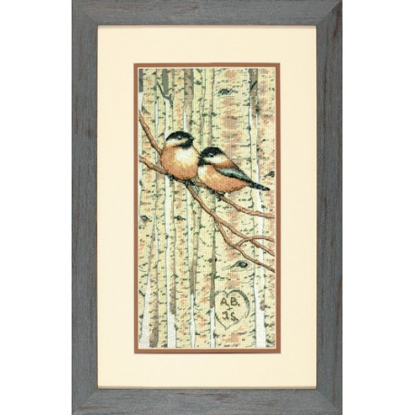 Набор для вышивания крестом Dimensions 70-35277 Love Birds фото