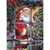 Набор для вышивания Dimensions 08734 Candy Cane Santa фото