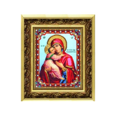 """Набор для вышивания Б-1178 Икона Божьей Матери""""Владимирская фото"""