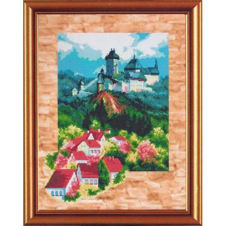 Набор для вышивания крестом Новая Слобода РЕ-3312 Деревенька