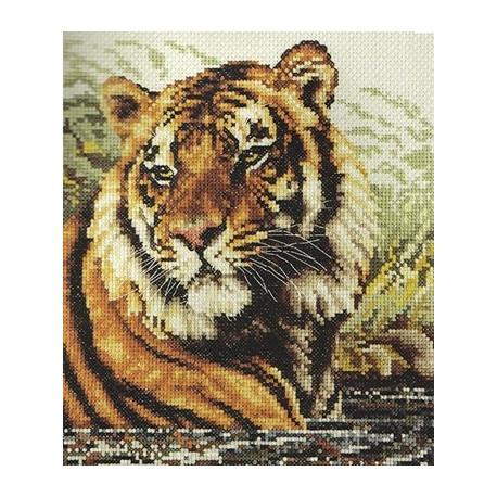 Набор для вышивания Janlynn 106-0059 Tiger фото