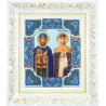 Набор для вышивания Б-1185 Св.блгвв.кн Петра и кнг.Февронии фото
