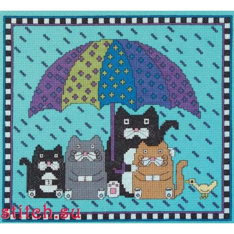 Набор для вышивания Janlynn 302-0002 Rain Rain Go Away фото