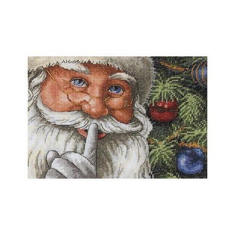 Набор для вышивки крестом Dimensions 08799 Santa's Secret фото
