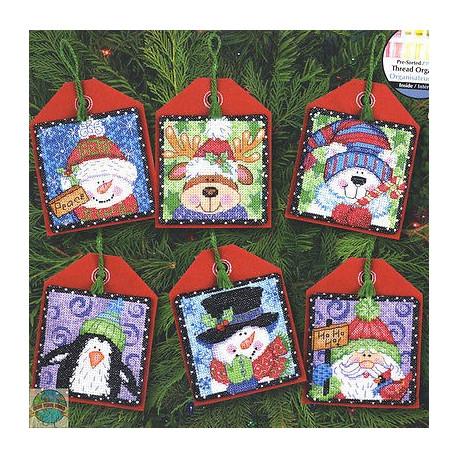 Набор для вышивания Dimensions 70-08842 Christmas Ornaments фото