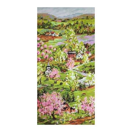 Набор для вышивания Janlynn 023-0242 New England Spring фото
