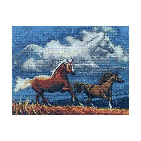 Набор для вышивания Janlynn 013-0282 Spririt of the Horse фото