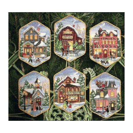Набор для вышивания Dimensions 08785 Christmas Village