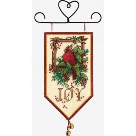 Набор для вышивания баннера Dimensions 08822 Cardinal Joy фото