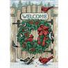 Набор для вышивания Dimensions 08655 Inviting Holiday Wreath