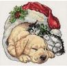 Набор для вышивания Dimensions 08826 Christmas Morning Pets фото