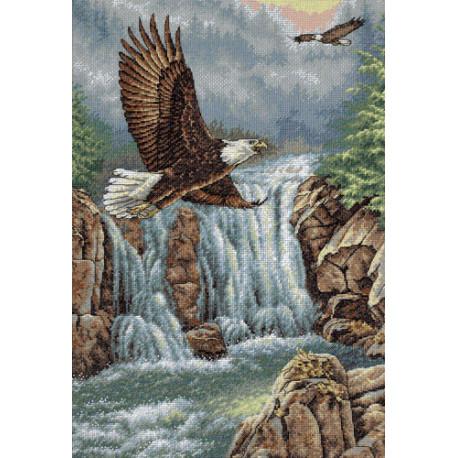 Набор для вышивки крестом Dimensions 35225 Eagle's Majesty фото