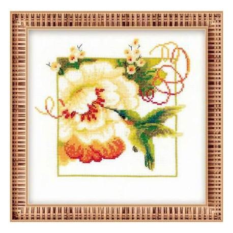 Набор для вышивки крестом Риолис 1105 Колибри фото