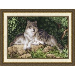 Набор для вышивки Золотое Руно ДЖ-027 Лесные Хищники