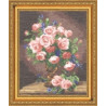 Набор для вышивки Золотое Руно ГН-007 Розы и Фиалки фото