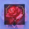 Набор для вышивания открытки бисером Butterfly 723 Роза фото