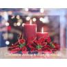Набор для вышивания открытки бисером Butterfly 703 Новогодние