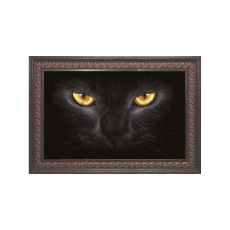 Схема для вышивания Чарівна Мить СБ-159 Черный кот фото