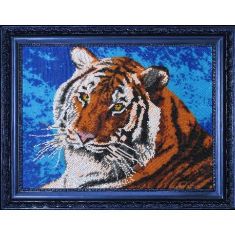 Набор для вышивания бисером Butterfly 553 Тигр фото