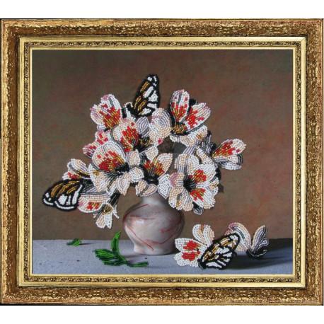 Набор для вышивания бисером Butterfly 204 Летний аромат фото