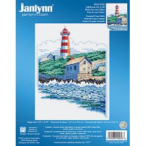 Набор для вышивания  Janlynn 023-0598 Lighthouse On A Hill