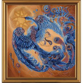 Набор для вышивания бисером и крестом Нова Слобода ННД-1015 Волшебная птица