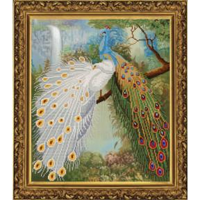 Набор для вышивания бисером и крестом Нова Слобода ННД-3018 Райский сад