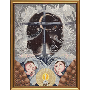 Набор для вышивания бисером и крестом Нова Слобода ННД-3020 Сон как слон